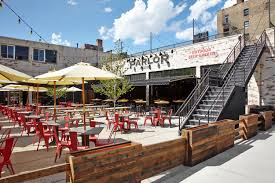 Chicago Patio Design by Parlor Pizza Bar Chicago West Loop The Second City Is Windy