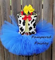 halloween 1st birthday jessie inspired toy story tutu dress cowgirl tutu jessie