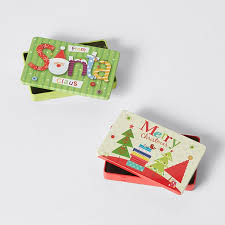 gift card tin christmas tin gift card holder assorted target australia