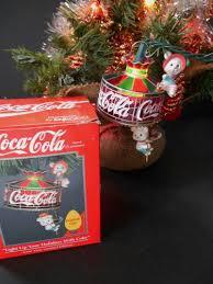 Pepsi Christmas Ornaments - enesco coca cola christmas ornament light up your holidays tiffany