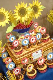 western themed toy story dessert table hostess with the mostess