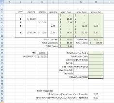 Building Construction Estimate Spreadsheet Excel On Estimating Topics On Electrical Estimating And Estimating
