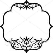 wedding design scroll bracket clipart wedding designs