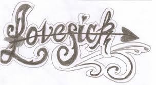 lovesick tattoo lettering by cxloe on deviantart
