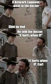 Carl Walking Dead Meme - it hurts when ip carl walking dead memes and dead memes