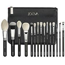 zoeva full set makeup brushes luxe plete set 15 professional organizer travel real techniques eye bag