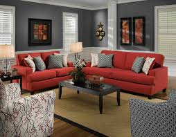 living room with red accents living room living room with red accents red and grey living