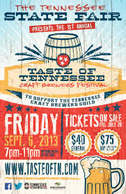 tennesse state fair announces taste of tennessee craft brewers