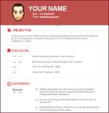modern resume format free modern resume templates
