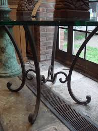 Dining Room Table Bases Metal Round Wrought Iron Table Base Iron Table Center Table And Table