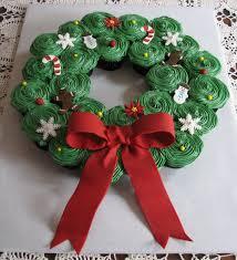 christmas cupcake wreath it seems everyone likes to make these