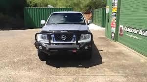 nissan pathfinder winch bumper nissan navara off road rocker bull bar mcc 4x4 by outdoor auto