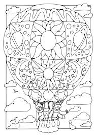 balloon coloring pages printable birthday balloon coloring pages alltoys for