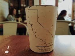 plantable coffee cups embedded with seeds grow into trees when