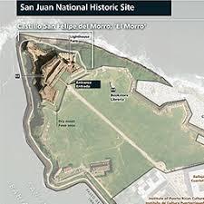san juan map maps san juan national historic site u s national park service