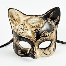 black and gold masquerade masks white gold venetian cat masquerade mask masquerade express