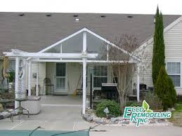 Building An Awning Over A Patio Patio Covers And Roofs Ecco Sunroom And Awning