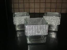 bling ribbon bling tealight holders weddingbee photo gallery
