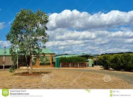 typical australian countryside home stock photography image