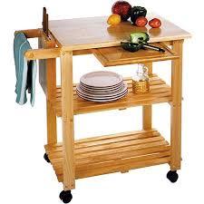 Kitchen Utility Cart Solid Beechwood Walmartcom - Kitchen utility table
