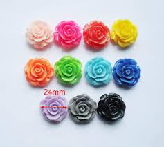 diy glitter rose cabochon crafts great for bracelet necklace