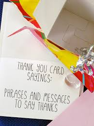 thank you card for thank you card sayings phrases and messages holidappy