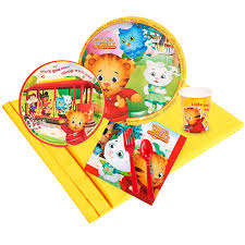 amazon com daniel tiger party supplies party pack for 24 toys
