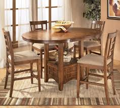 ashley dining room furniture set ashley furniture cross island 5 piece counter height ext table