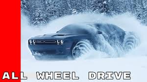 All Wheel Drive Dodge Dart 2017 Dodge Challenger Gt Awd All Wheel Drive Youtube