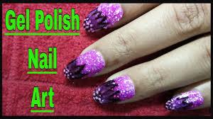 gel polish nail art designs tutorial acrylic nails design and
