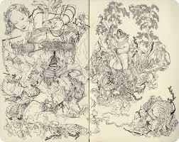sketch u2014 james jean