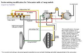 wiring standard 3 way in series telecaster guitar forum