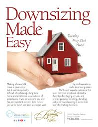 downsizing downsizing made easy lunch seminar seniors blue book