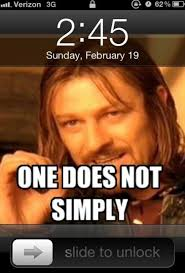 One Does Not Meme - one does not simply viral viral videos