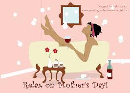 this mother u0027s day card shows a beautiful relaxed black african
