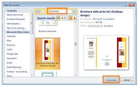 cara membuat brosur makanan cara mudah membuat brosur menggunakan microsoft word 2007 dailysocial