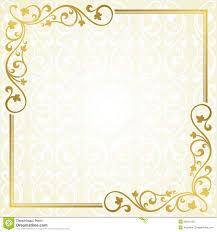 Invitation Card Example Floral Invitation Card Stock Photo Image 36031180