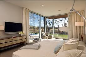 Big Master Bedroom Modern Master Bedroom With Large Windows Home Decorating Ideas