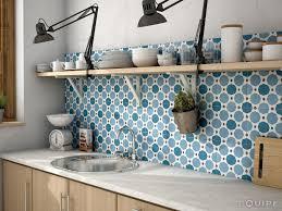 faux carrelage cuisine cuisine carreaux de ciment mur cuisine carreaux de ciment mur in