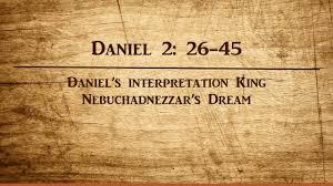 bible study daniel 2 26 45 daniel u0027s interpretation king