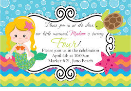 Birthday Invitation Card Kids Child Birthday Party Invitations Cards Wishes Greeting Card
