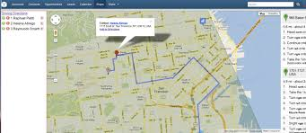 Maps Route by New Features Added To Google Maps Integration With Sugarcrm Epicom