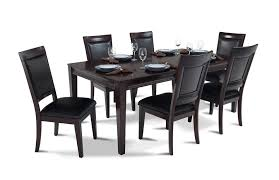 bobs furniture kitchen table set matrix 7 dining set dining room sets bob s discount