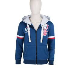 overwatch soldier 76 blue sweater costume xxs xxxl