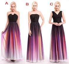 ombre dress elie saab ombre strapless prom dresses new 3 styles pleats evening