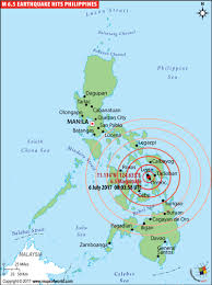 san francisco quezon map philippines earthquake map places affected by earthquake in
