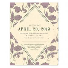 save the date in plantable seed save the date cards catalog botanical paperworks