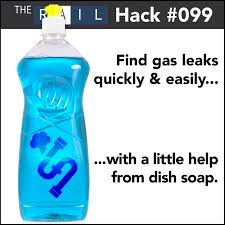 detect restaurant gas leaks with soap hack 099 u2014 the rail