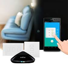 broadlink smart home wireless wifi remote kit smart switch