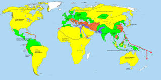 Hinduism Map Frontiers Of Anthropology Atlantis And Post Flood Survivor